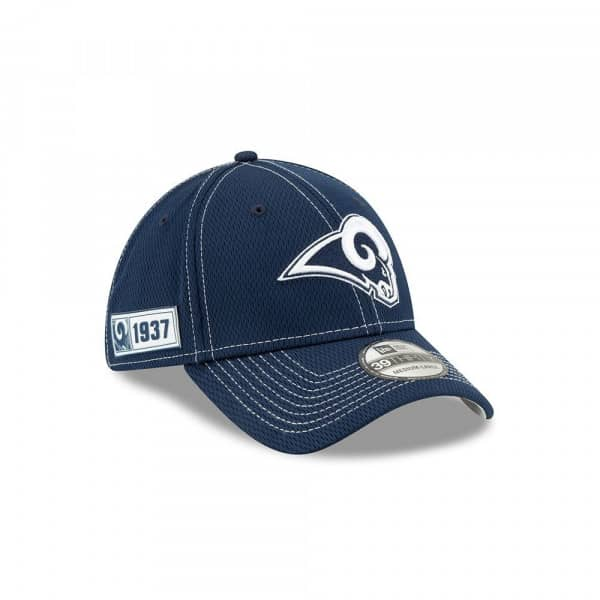 Los Angeles Rams 2019 NFL On-Field Sideline 39THIRTY Stretch Cap Road