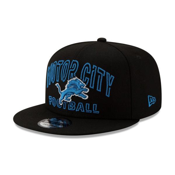 Detroit Lions 2020 NFL Draft New Era 9FIFTY Snapback Cap Alternate
