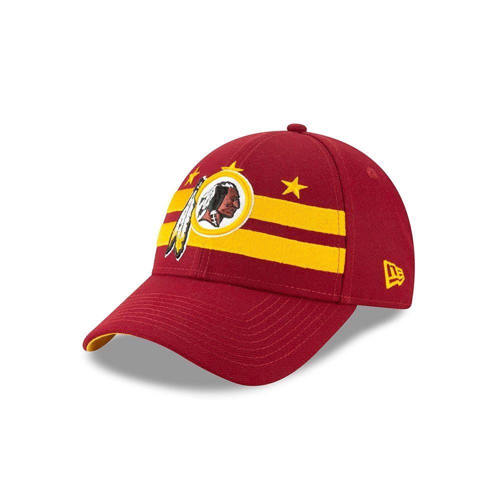 new style f1c33 0f087 New Era Washington Redskins 2019 NFL Draft 9FORTY Adjustable Cap On-Stage    TAASS.com Fan Shop