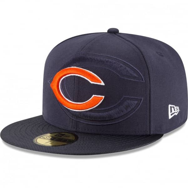 Chicago Bears 2016 Sideline 59FIFTY Fitted NFL Cap