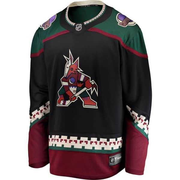 Arizona Coyotes Fanatics Breakaway NHL Trikot Alternate Schwarz