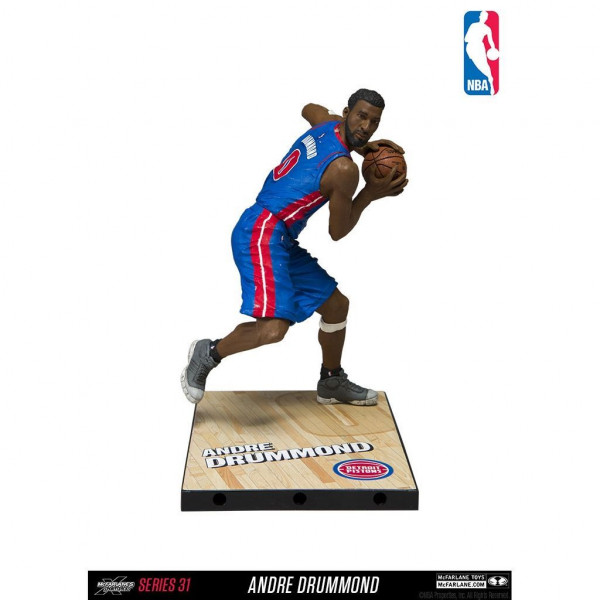 NBA Series 31 Andre Drummond Detroit Pistons Action Figur