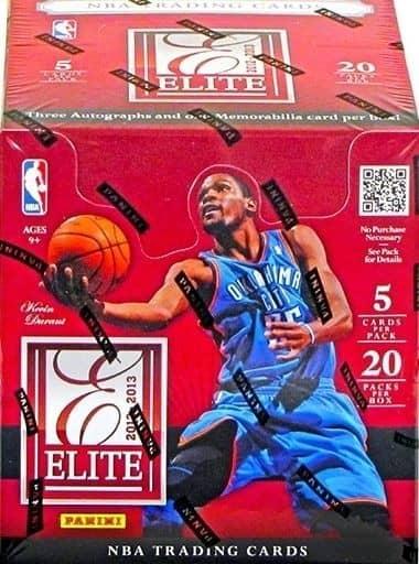 2012/13 Panini Elite Basketball Hobby Box NBA
