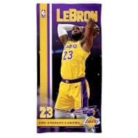 LeBron James Los Angeles Lakers NBA Strandtuch