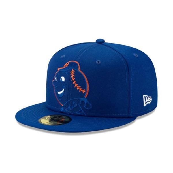 New York Mets Logo Elements New Era 9FIFTY Snapback MLB Cap