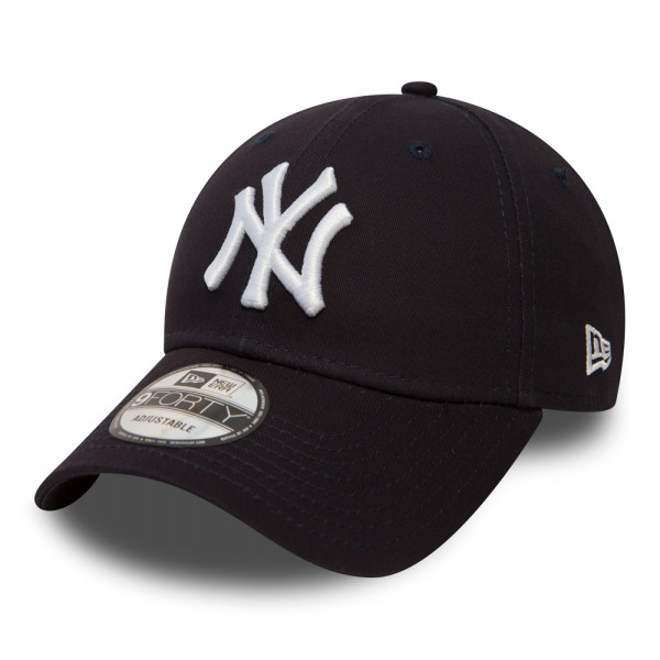 newest f413a bb72a New York Yankees 9FORTY League Basic MLB Cap Navy