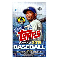 2015 Topps Series 1 Baseball Hobby Box MLB