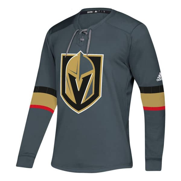 Vegas Golden Knights NHL Platinum Long Sleeve Trikot