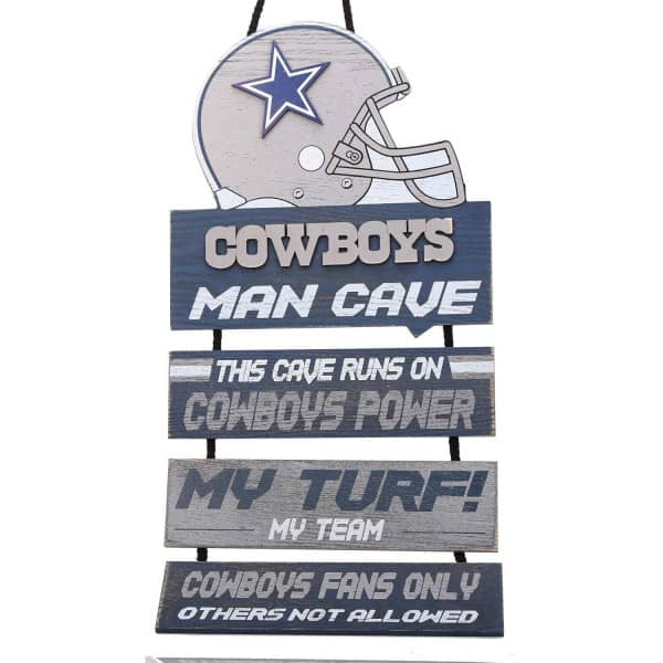 Dallas Cowboys FOCO NFL Man Cave Schild
