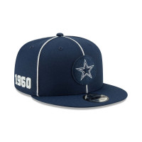 Dallas Cowboys 2019 NFL 1920s Sideline 9FIFTY Snapback Cap Home