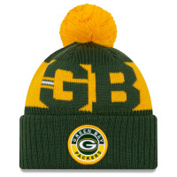 Green Bay Packers Official 2020 NFL Sideline New Era Sport Knit Wintermütze