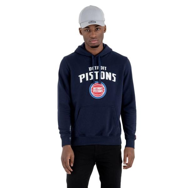 Detroit Pistons Team Logo Hoodie NBA Sweatshirt