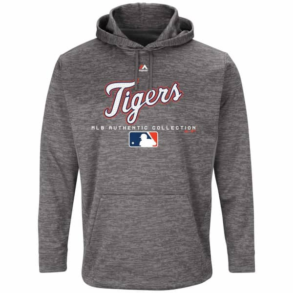 Detroit Tigers Team Drive Authentic MLB Hoodie Sweatshirt