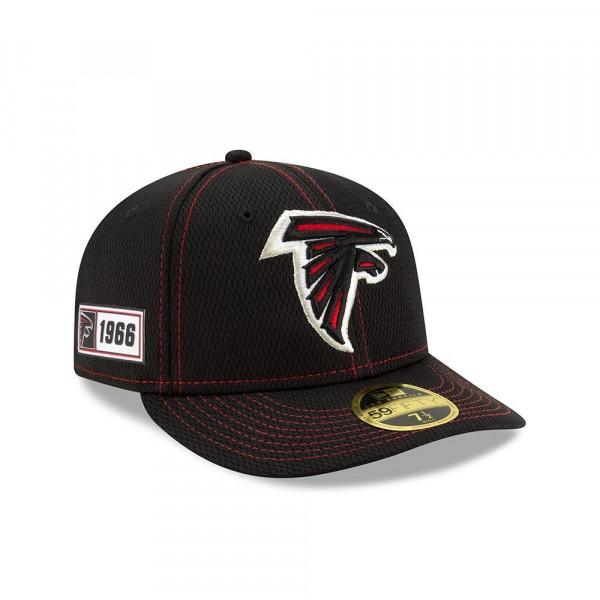 Atlanta Falcons 2019 NFL On-Field Sideline Low Profile 59FIFTY Cap Road