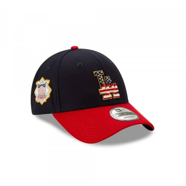 Los Angeles Dodgers 4th of July 2019 MLB 9FORTY Adjustable Cap