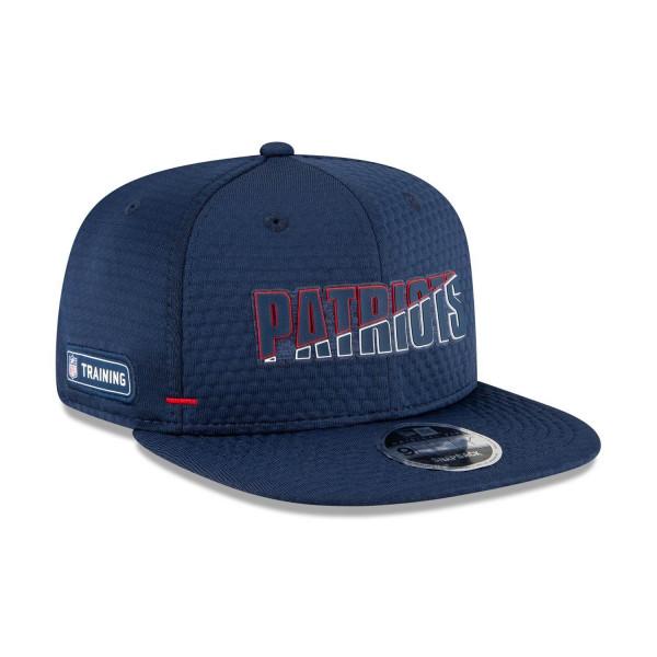 New England Patriots 2020 Summer Sideline New Era Original Fit 9FIFTY Snapback NFL Cap