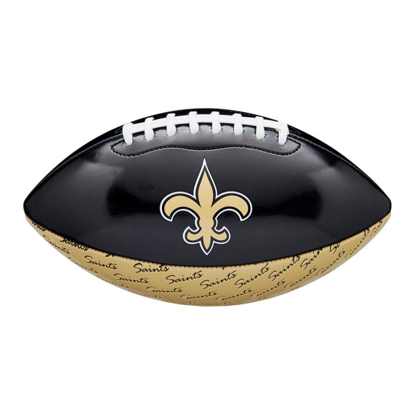 New Orleans Saints City Pride Wilson PeeWee Size NFL Football