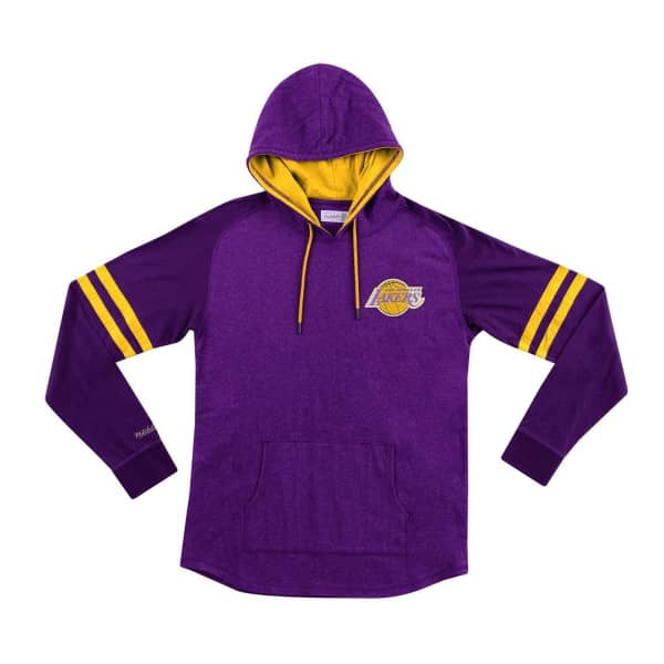 Los Angeles Lakers Lightweight 2.0 Mitchell & Ness Pullover NBA Hoodie