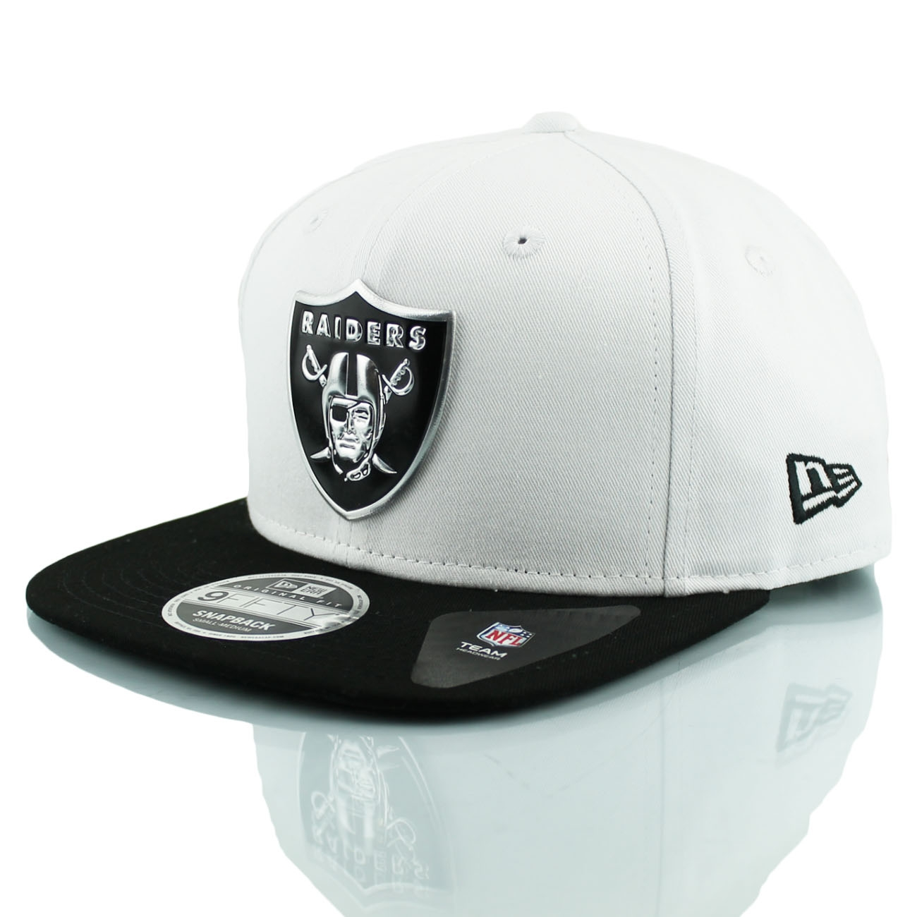 newest collection 8e81b 7ea29 New Era Oakland Raiders Logo Pack 9FIFTY NFL Snapback Cap   TAASS.com Fan  Shop