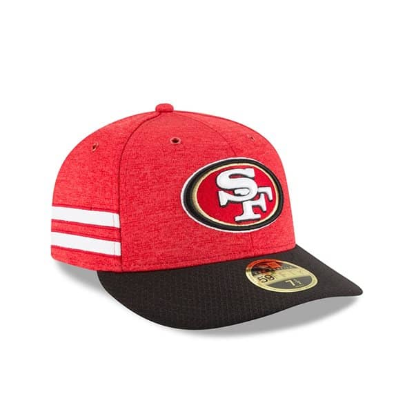 San Francisco 49ers 2018 NFL Sideline Low Profile 59FIFTY Cap Home