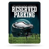 Philadelphia Eagles Reserved Parking NFL Metallschild