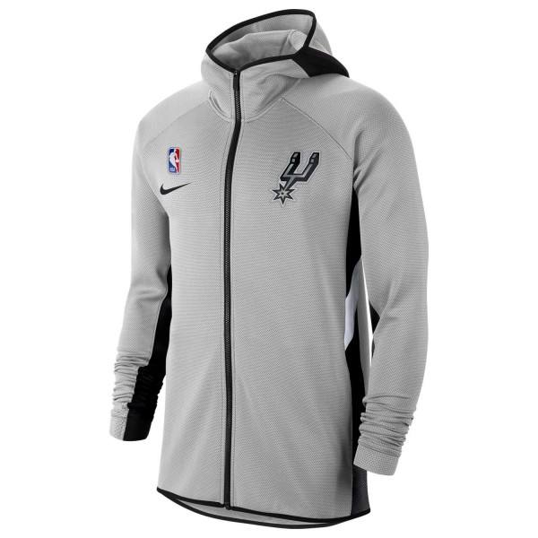 San Antonio Spurs 2019/20 Showtime Therma Flex NBA Full-Zip Hoodie
