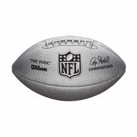 "NFL Replica Game Ball ""The Duke"" Silver Edition"