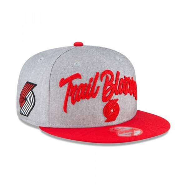 Portland Trail Blazers Authentic On-Stage 2020 NBA Draft New Era 9FIFTY Snapback Cap
