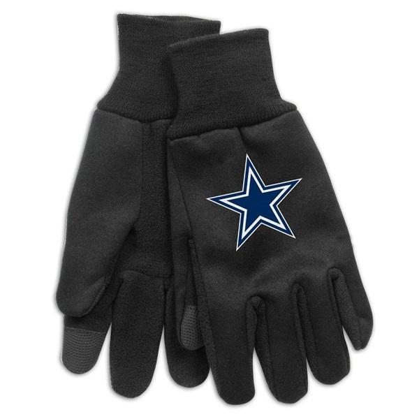 79e7e4df9ab WinCraft Dallas Cowboys Technology Touch-Screen NFL Gloves | TAASS.com Fan  Shop
