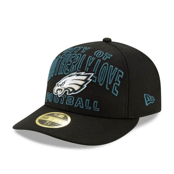 Philadelphia Eagles 2020 NFL Draft New Era Low Profile 59FIFTY Cap Alternate