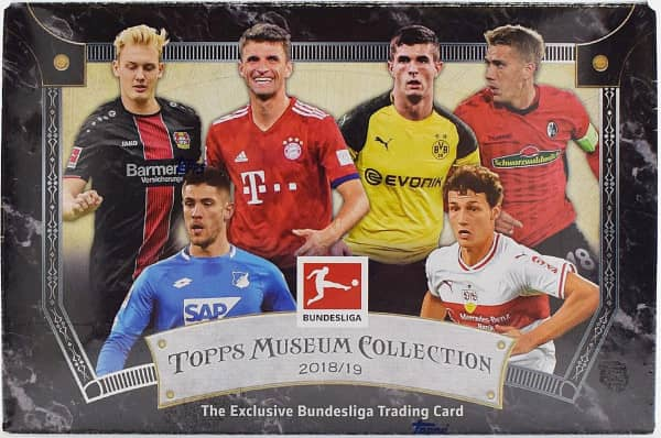 2018/19 Topps Bundesliga Museum Collection Soccer (Fussball) Hobby Box