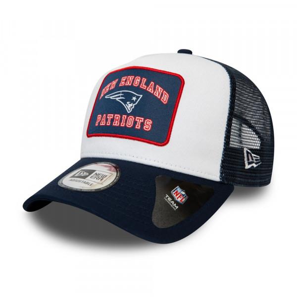 New England Patriots Graphic Patch New Era Adjustable NFL Trucker Cap