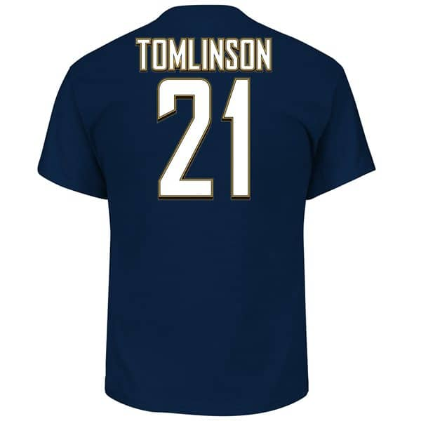 LaDainian Tomlinson #21 San Diego Chargers Hall of Fame NFL T-Shirt