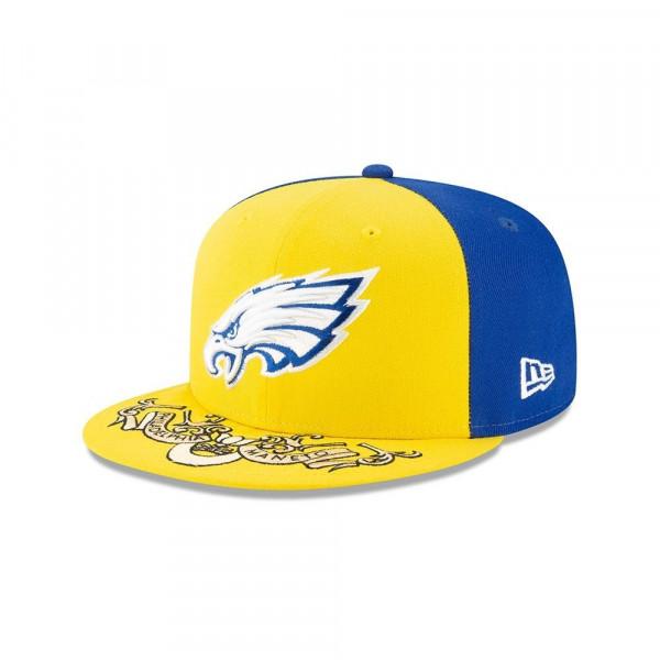 new arrival 20a9f 405d9 New Era Philadelphia Eagles 2019 NFL Draft 59FIFTY Fitted Cap Spotlight    TAASS.com Fan Shop