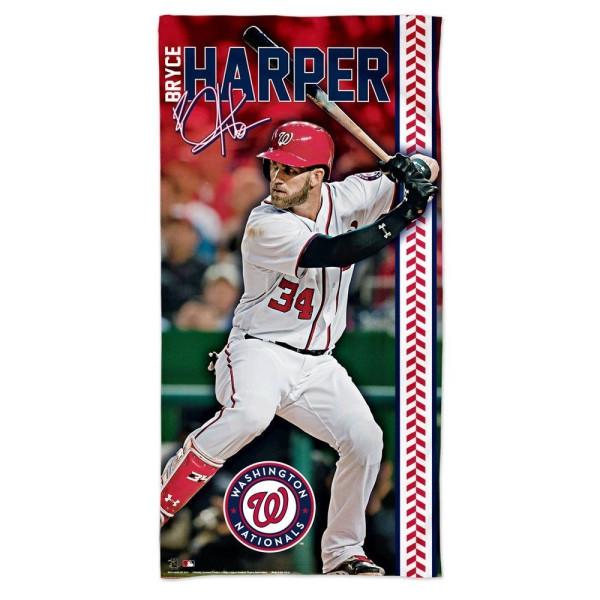 Bryce Harper Washington Nationals MLB Strandtuch