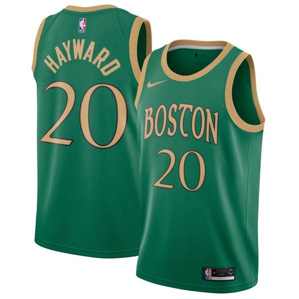 Gordon Hayward #20 Boston Celtics 2019/20 City Edition Swingman NBA Trikot