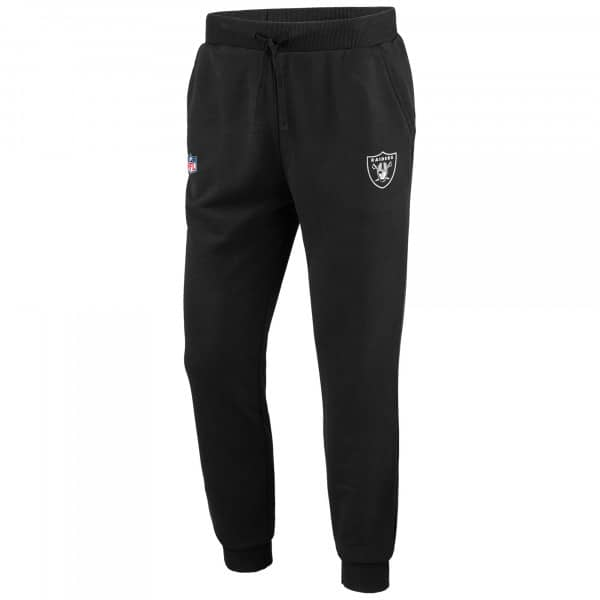 Las Vegas Raiders Essentials Fanatics NFL Jogger Sweatpants Schwarz