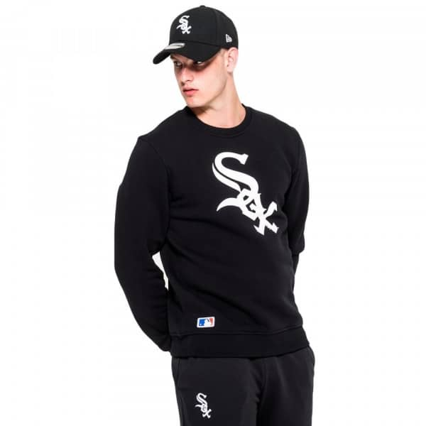 Chicago White Sox Logo Crewneck MLB Sweatshirt Schwarz