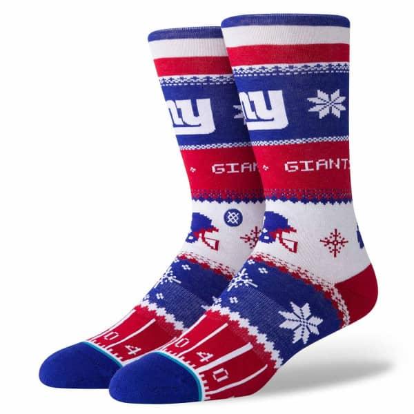 New York Giants Holiday Sweater NFL Socken