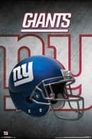 New York Giants Helmet Football NFL Poster