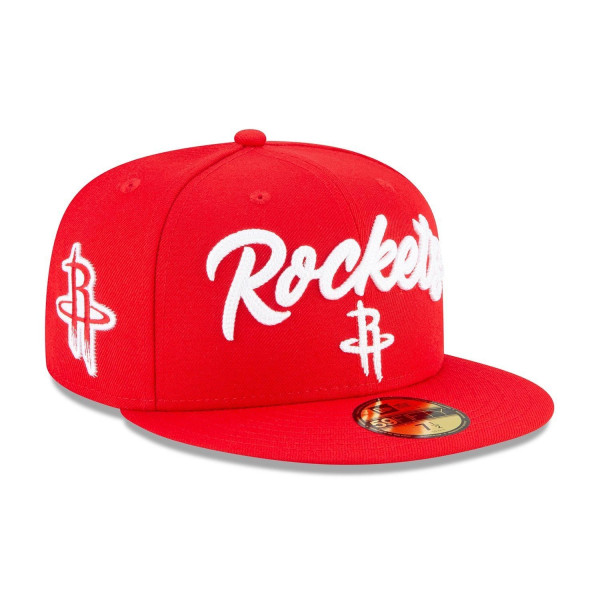 Houston Rockets Alternate Authentic 2020 NBA Draft New Era 59FIFTY Fitted Cap