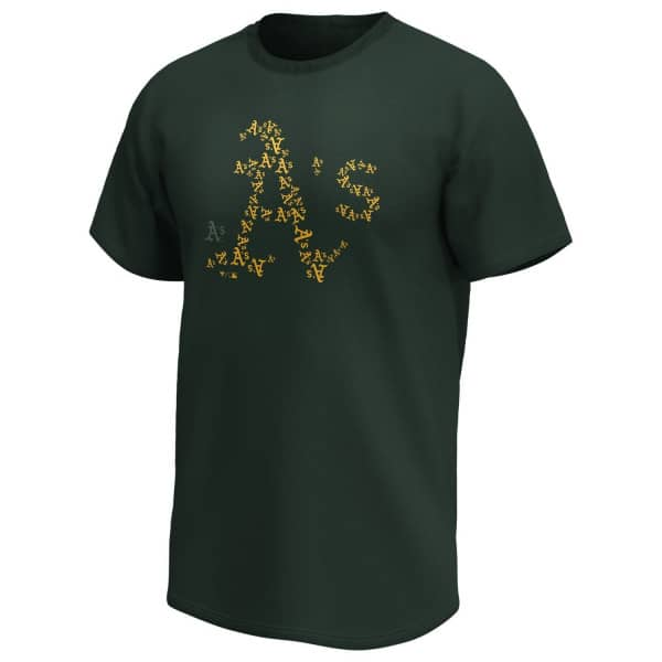 Oakland Athletics 2020 Doorbusters Infill Fanatics Core MLB T-Shirt