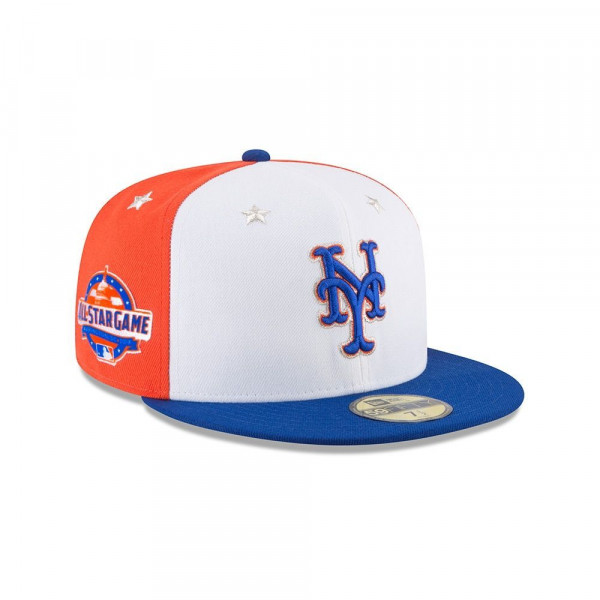 release date: 4934c d6ef2 New Era New York Mets 2018 All Star Game 59FIFTY Fitted MLB Cap   TAASS.com  Fan Shop