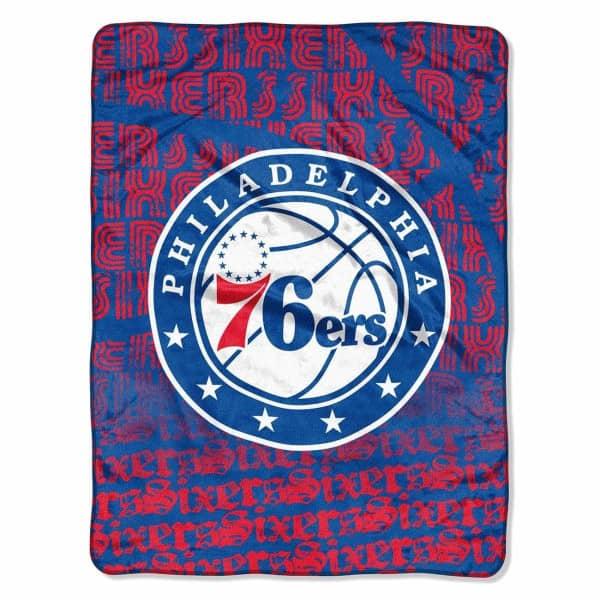 Philadelphia 76ers Super Plush NBA Decke