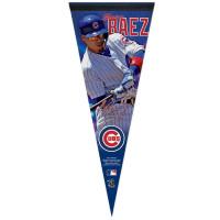Javier Baez Chicago Cubs Player MLB Wimpel