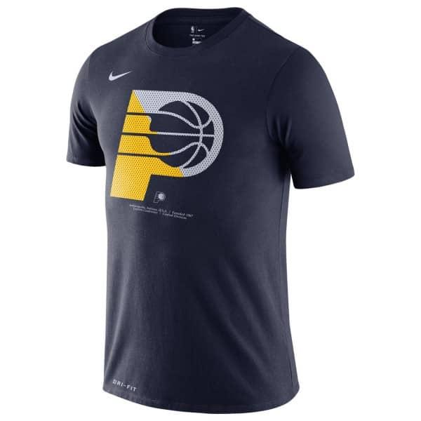 Indiana Pacers Bold Logo Dri-FIT NBA T-Shirt