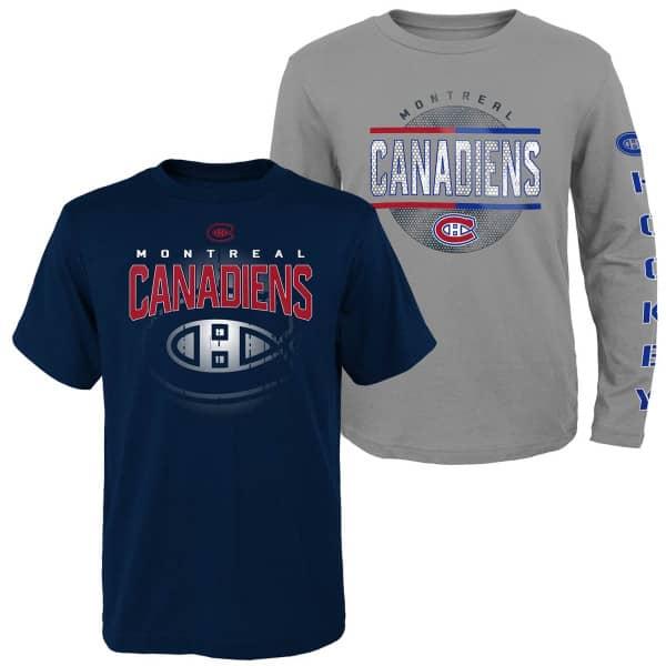 Montreal Canadiens Evolution 3-in-1 Combo Shirt Set (KINDER)