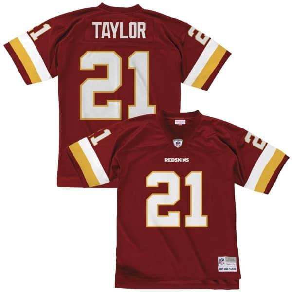 Sean Taylor #21 Washington Redskins Legacy Throwback NFL Trikot Rot