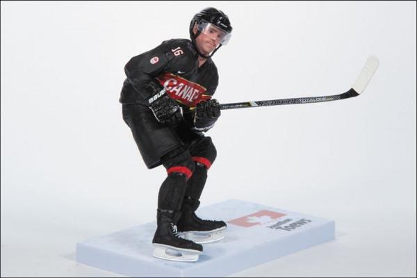 2014 Olympia Team Canada Jonathan Toews Eishockey Figur - Black Jersey