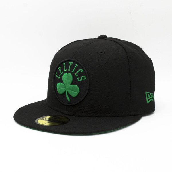Boston Celtics Secondary Logo 59FIFTY Fitted NBA Cap Schwarz